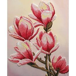 Zestaw z koralikami - Magnolie