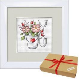 Zestaw prezentowy - Kwiaty z ogródka - Wiaderko