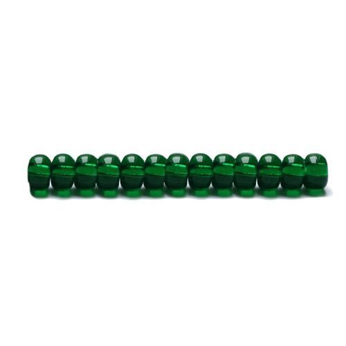 P 50150T-6 Korálky Preciosa průhledné Rokajl (4,2mm)