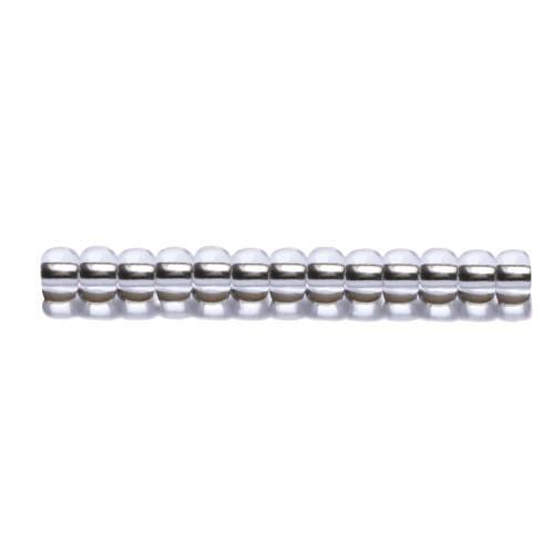 P 78102S-6 Korálky Preciosa Rokajl s metalizovaným průtahem (4,2mm)