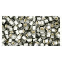 Korálky TOHO s metalizovaným průtahem 8