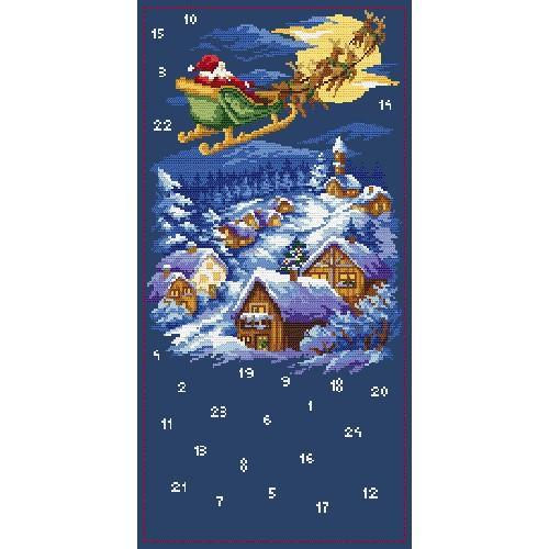 Sada s mulinky - Adventní kalendář - Běžící reniféry