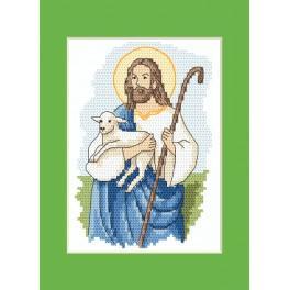 Vyšívací sada - Velikonoční přání - Ježíš