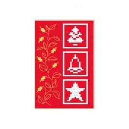 Vyšívací sada - Vánoční přání