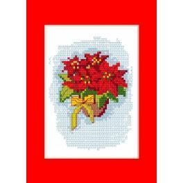 Vyšívací sada - Vánoční přání - Betlémská hvězda