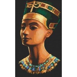 Vyšívací sada s korálky - Nefertiti