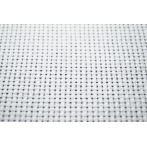 904-01 Kanava AIDA - hustota 40/10cm (10 ct) bílá