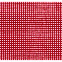 Kanava barevná varchách - 56/10cm (14 ct) – 21x28 cm červená