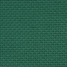 AIDA 64/10cm (16 ct) - arch 40x50 cm zelená
