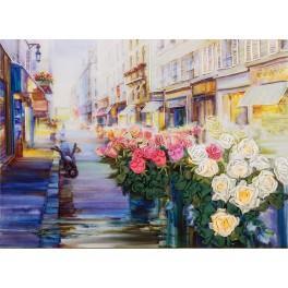 Sada se stuhami - Pařížská ulička