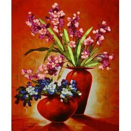 Zestaw wstążeczkowy - Bukiet kwiatów