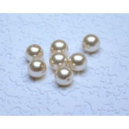 Korálky perlové, matné