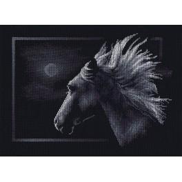 Vyšívací sada - Měsíční kůň