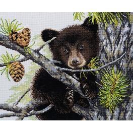Vyšívací sada - Medvěd
