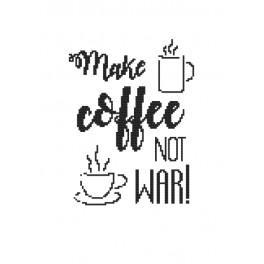 Vyšívací sada - Coffee