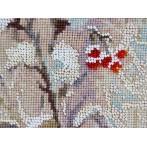 Vyšívací sada a korálky - Zimní host