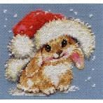 ALI 0-95 Vyšívací sada - Zimní králíček