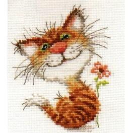 ALI 0-87 Vyšívací sada - Kočička