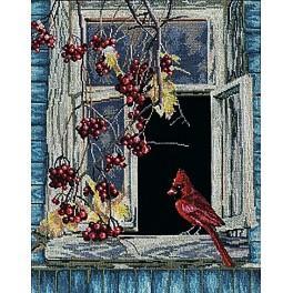 Sada s mulinky - Staré okno