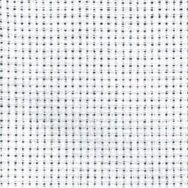 Kanava AIDA - hustota 54/10cm (14 ct) Tajlur bílá