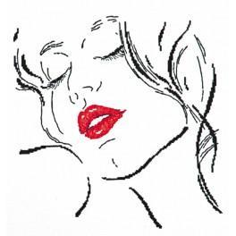 Vyšívací sada - Krásná dáma