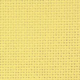 AIDA 54/10cm (14 ct) - arch 15x20 cm žlutá