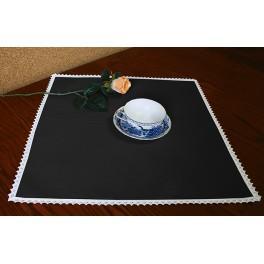 Ubrousek Aida 45x45 cm černá