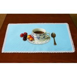 988-04 Ubrousek Aida 45x30 cm modrá