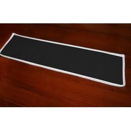 Ubrousek Aida 37x21 cm černá