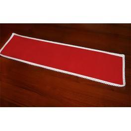 Ubrousek Aida 37x21 cm červená