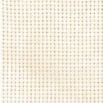 986-03 Běhoun Aida s krajkou 40x90 cm ecru