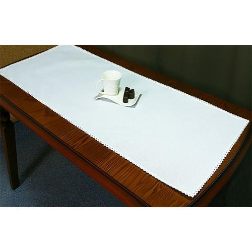 985-01 Běhoun Aida 45x110 cm bílá