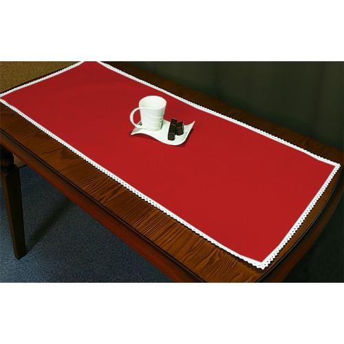 985-06 Běhoun Aida 45x110 cm červená