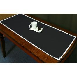 Běhoun Aida 45x110 cm černá