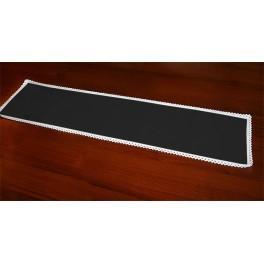 Běhoun Aida 117x21 cm černá