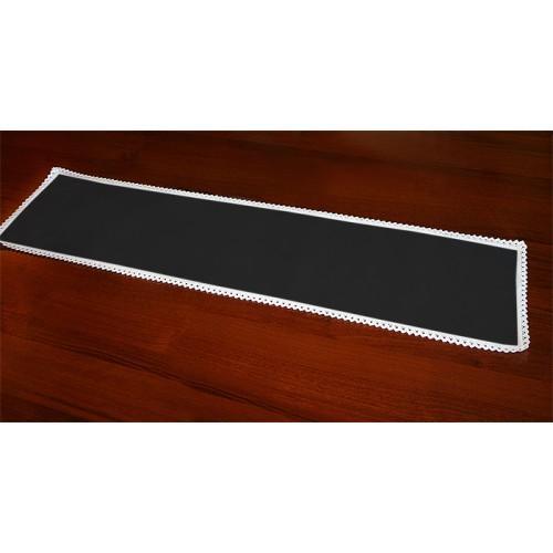 983-02 Běhoun Aida 117x21 cm černá