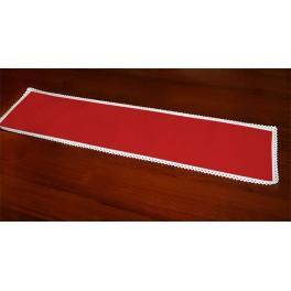 Běhoun Aida 117x21 cm červená
