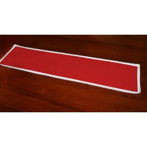 983-06 Běhoun Aida 117x21 cm červená