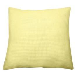 Polštář 40x40 cm, 14 ct žlutá
