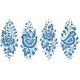 Předloha - Porcelanová kraslice
