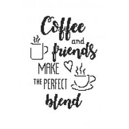 Předloha - Coffee and friends