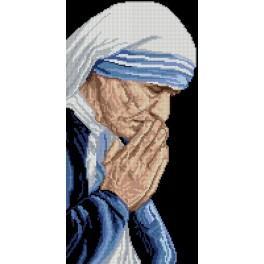 6534 Předtištěná kanava - Matka Tereza z Kalkaty