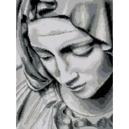 Předloha - Michelangelova pieta