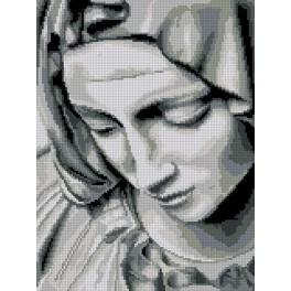 Předtištěná kanava - Michelangelova pieta