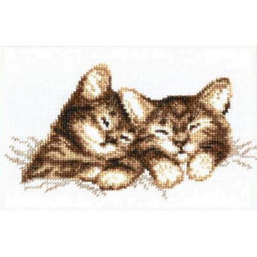 Vyšívací sada - Koťata