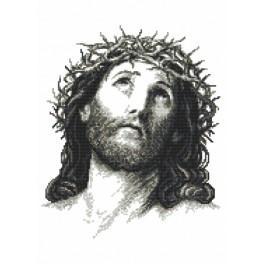 K 8888 Předtištěná kanava - Ježíš Kristus