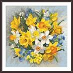 Z 8892 Vyšívací sada - Jarní květiny II