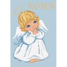 Předtištěná kanava - Andělíček pro chlapečka