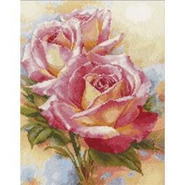 ALI 2-31 Vyšívací sada - Růžové sny