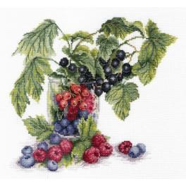 Vyšívací sada - Ovoce léta